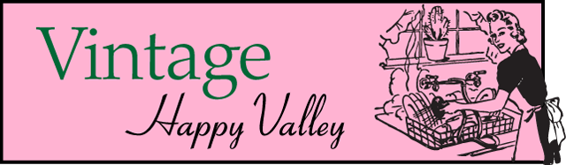 Vintage Happy Valley banner