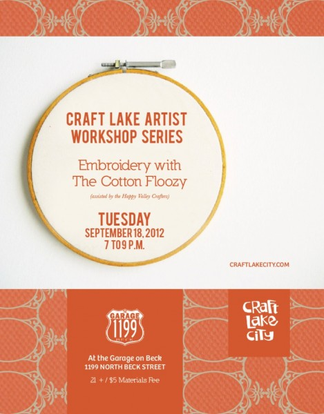 Craft Lake Artist Workshop Series